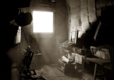 破旧阁楼素材