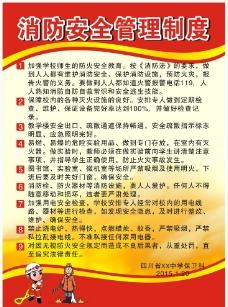 消防安全管理制度图片