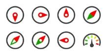 个性指南针系列图标下载