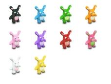 可爱卡通兔子图标下载