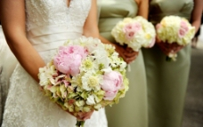 新娘手花图片