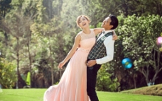 浪漫婚纱照图片