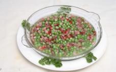 腊肉豌豆图片
