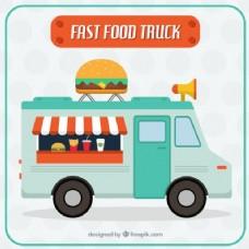 尼斯快速食品卡车