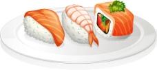 诱人和寿司