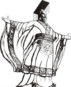 秦始皇人物图片