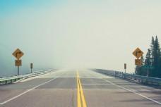 公路复古LOMO背景素材图