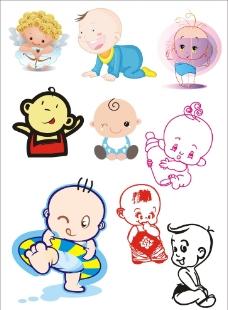 卡通宝宝图片