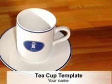 一杯茶的PowerPoint模板