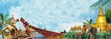 泰国风情背景