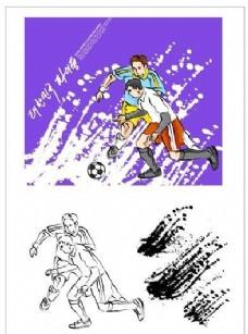 笔刷设计应用 背景图案 矢量素材 AI格式_0222
