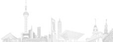上海线条图图片