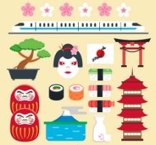 卡通日本元素
