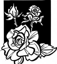 鲜花 花卉 矢量素材 eps格式_0062