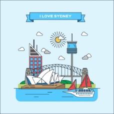 悉尼平面图