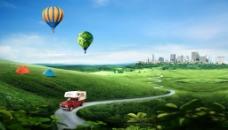 绿色的草原