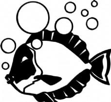 鱼 水中动物 矢量素材 eps格式_0041