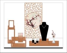 中国风珠宝橱窗设计