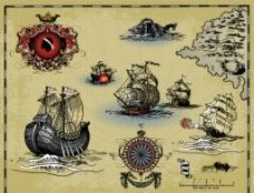 航海素材图片