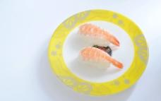 鲜虾寿司  菜谱素材图片