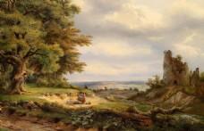 大师风景油画