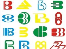 字母设计B图片