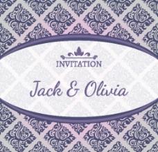 婚禮邀請卡圖片