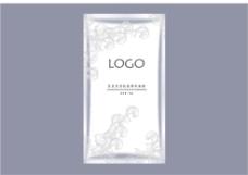 银白色面膜内袋包装设计