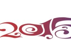 2015羊年创意字体ppt