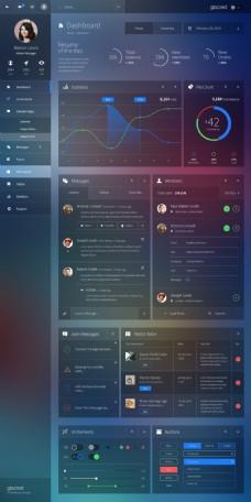 扁平化UI kit