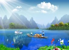 梦幻自然风景图片