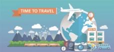 飞机 旅游 图标 图片 素材
