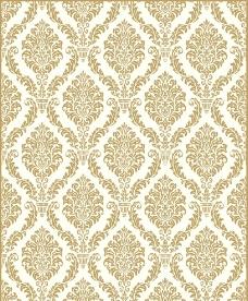 欧式金色花纹图片