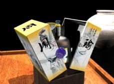 酒包装图片