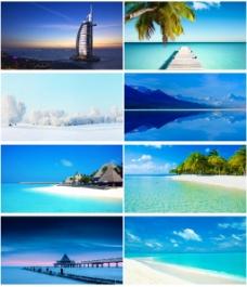 热带海洋风景