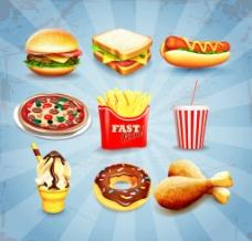 快餐美食图片