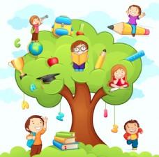 兒童學習圖片
