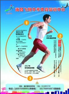 中考体育培训单页
