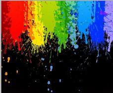 彩色涂鸦图片