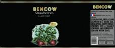 bencow草莓罐头桶包装