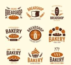 面包店标签LOGO图片