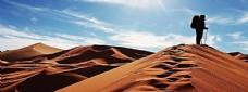 沙漠背景海报