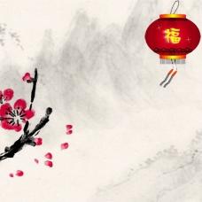中国风新春背景