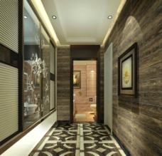 中式走廊图片