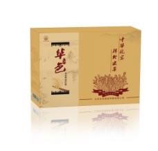 华色酒香虫草滋养面纸壳外包装