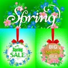 春季吊牌装饰