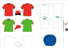 T恤广告帽ok VI办公用品类 AI格式_0036