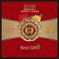 桂香月月饼包装设计