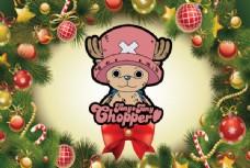 圣诞乔巴海报