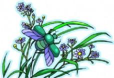 花朵 花草 鲜花 矢量 EPS格式_0019